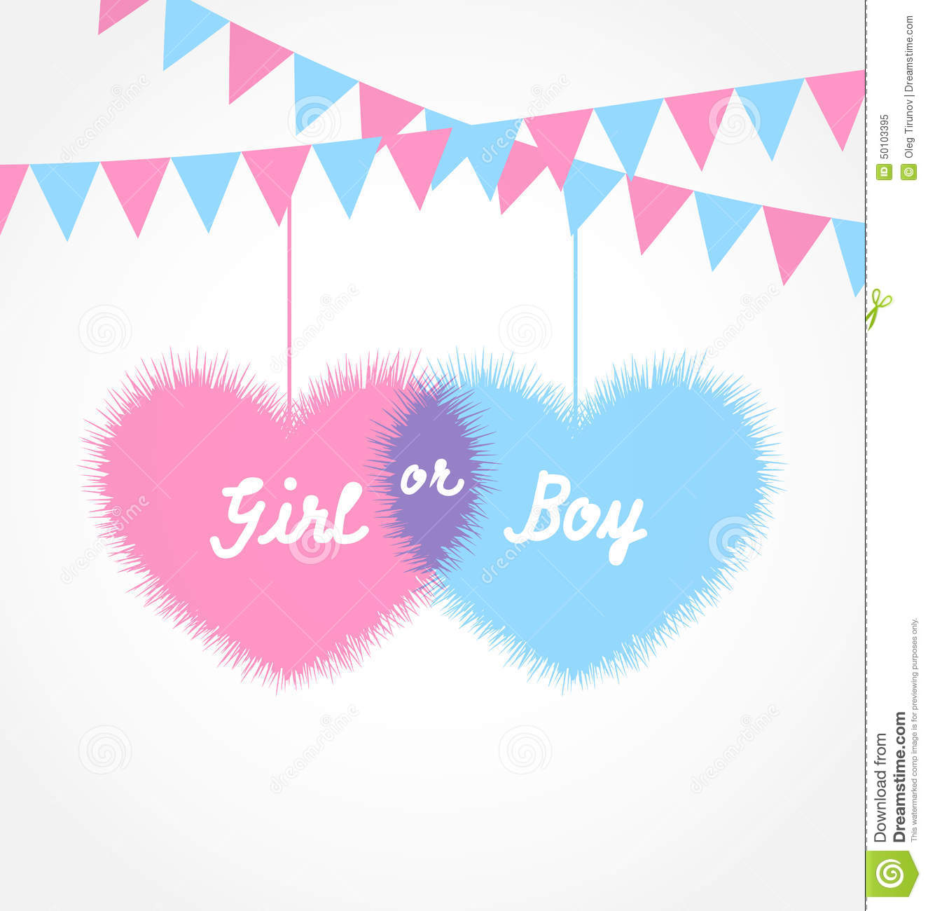 Pink And Blue Ba...Baby Clothing Clipart