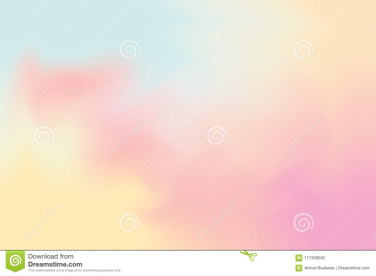 Pink Blue Soft Color Mixed Background Painting Art Pastel Abstract Colorful Wallpaper