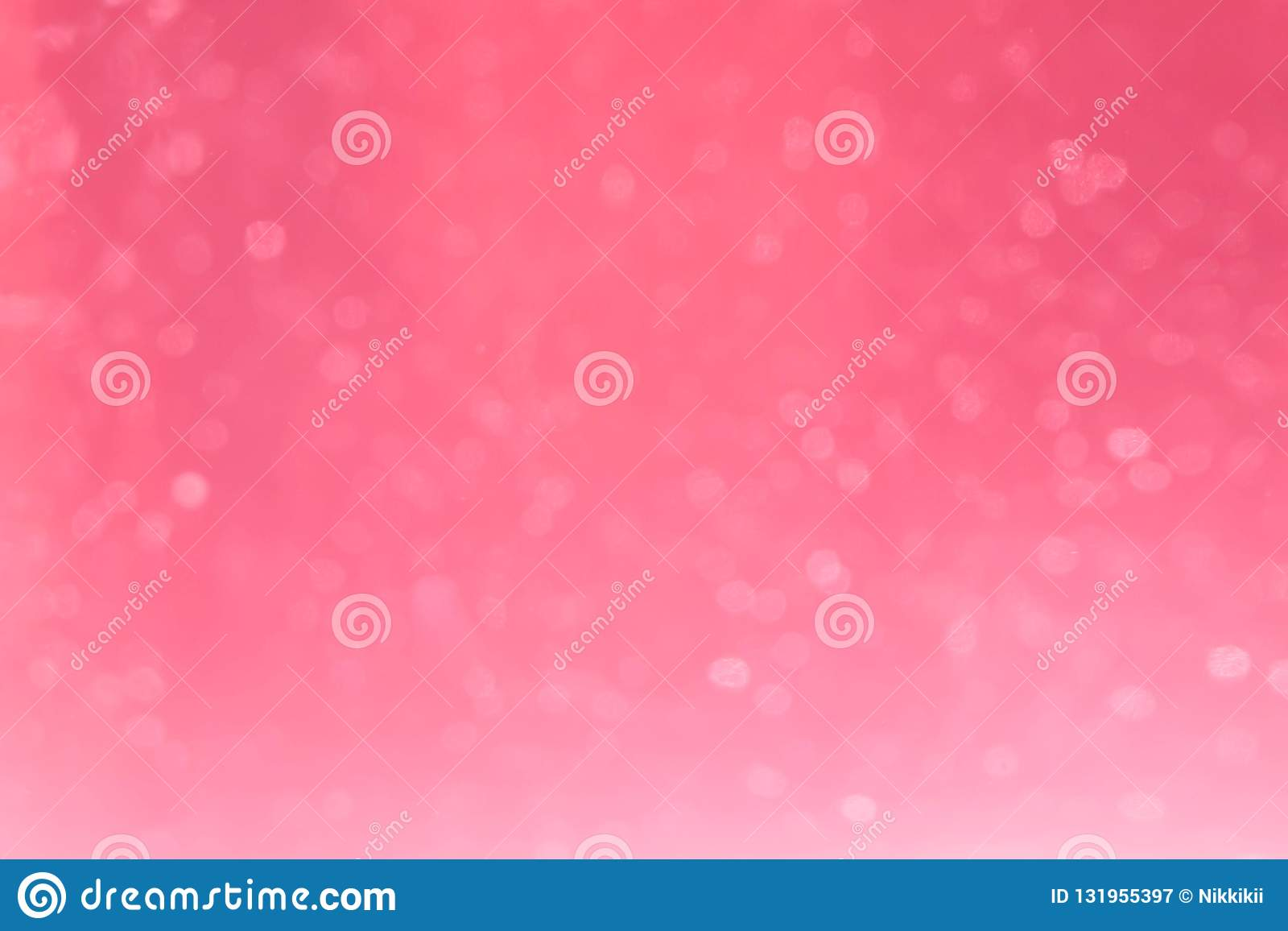 Pink bokeh for background
