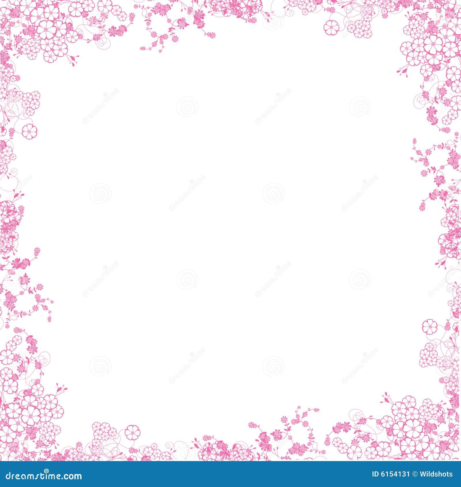 Pink Border Stock Image - Image: 6154131