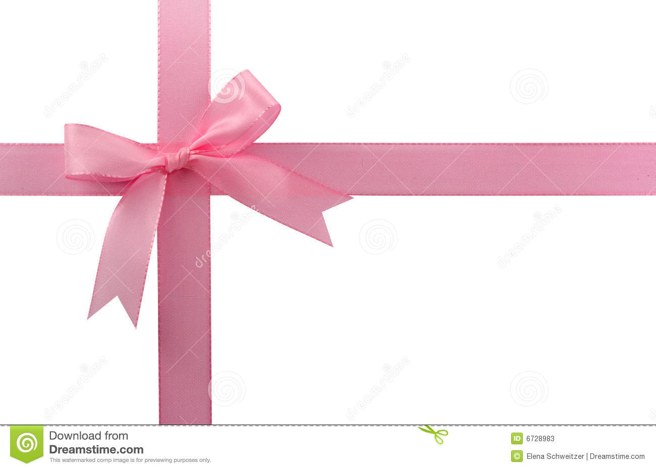 Pink Bow Stock Photos - Image: 6728983