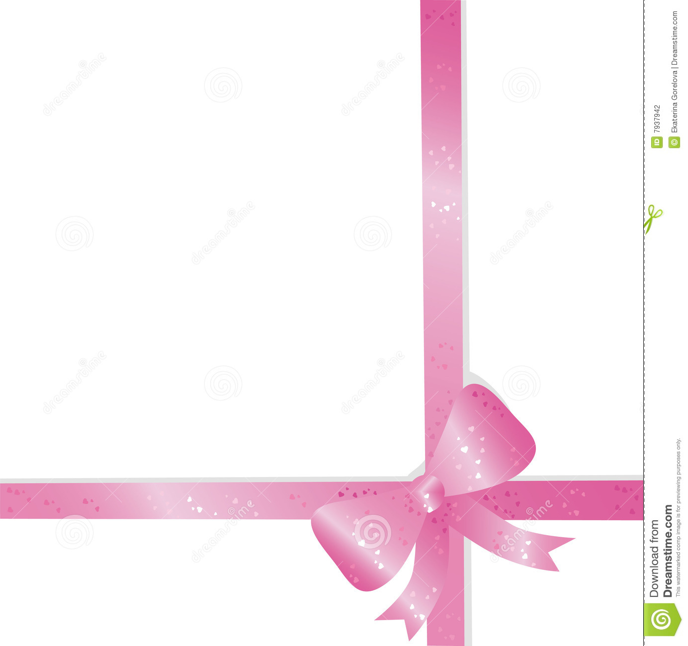 Pink Bow Stock Photography Image 7937942