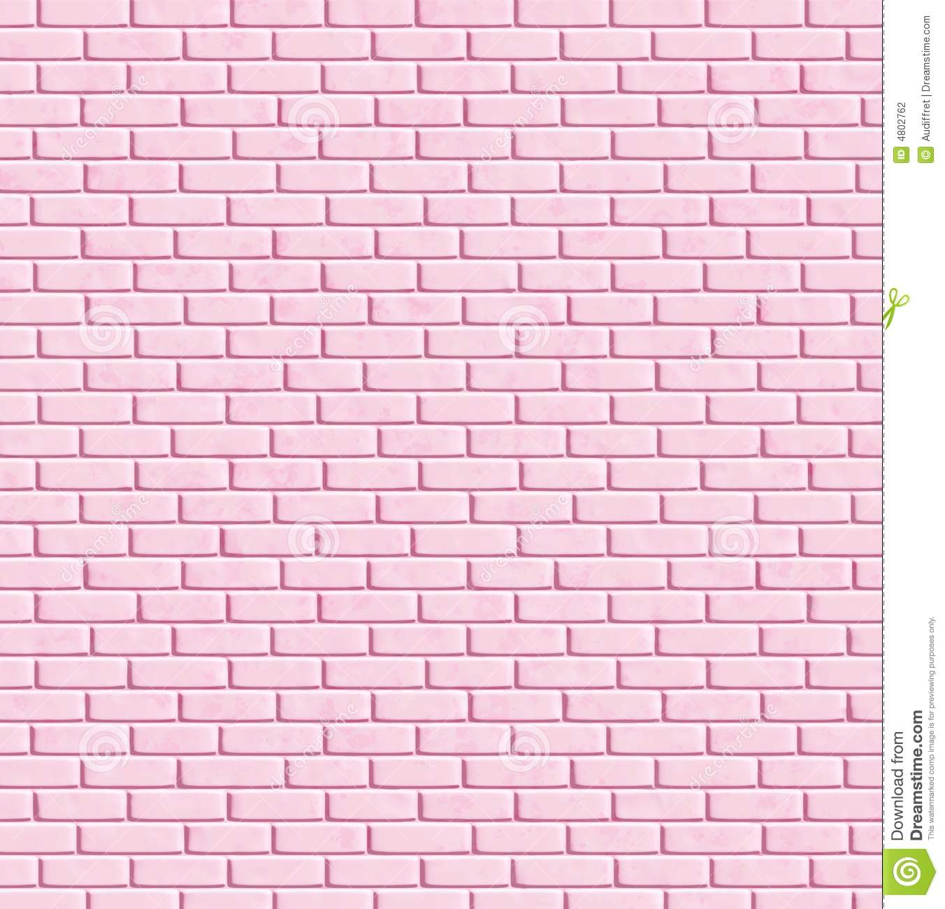 Pink brick wall background stock illustration for Pink wallpaper for walls