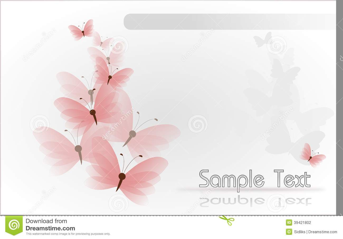 pink butterfly template stock illustration image 39421802