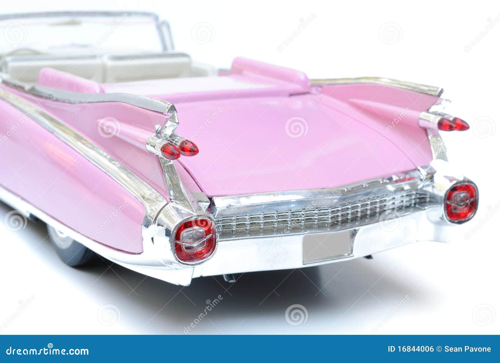 Pink Cadillac Royalty Free Stock Image - Image: 16844006