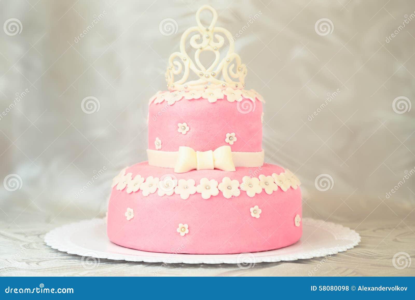 Wedding Cake Crown Design
