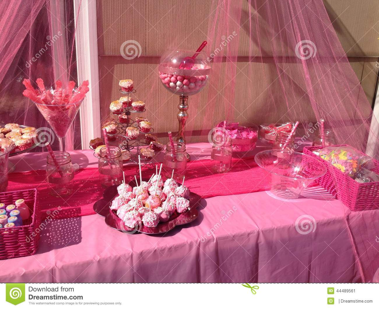 Pink Candy Bar Stock Photo Image 44489561