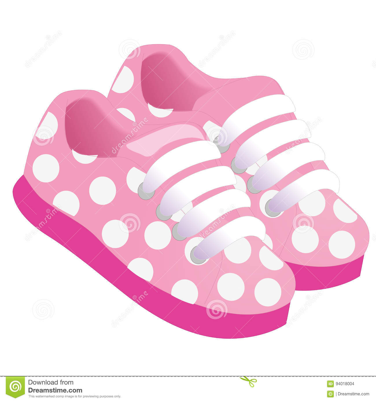 pink childrens or young adult shoes pair kids sneaker pink girls rh dreamstime com clip art kid shoes clip art kid shoes