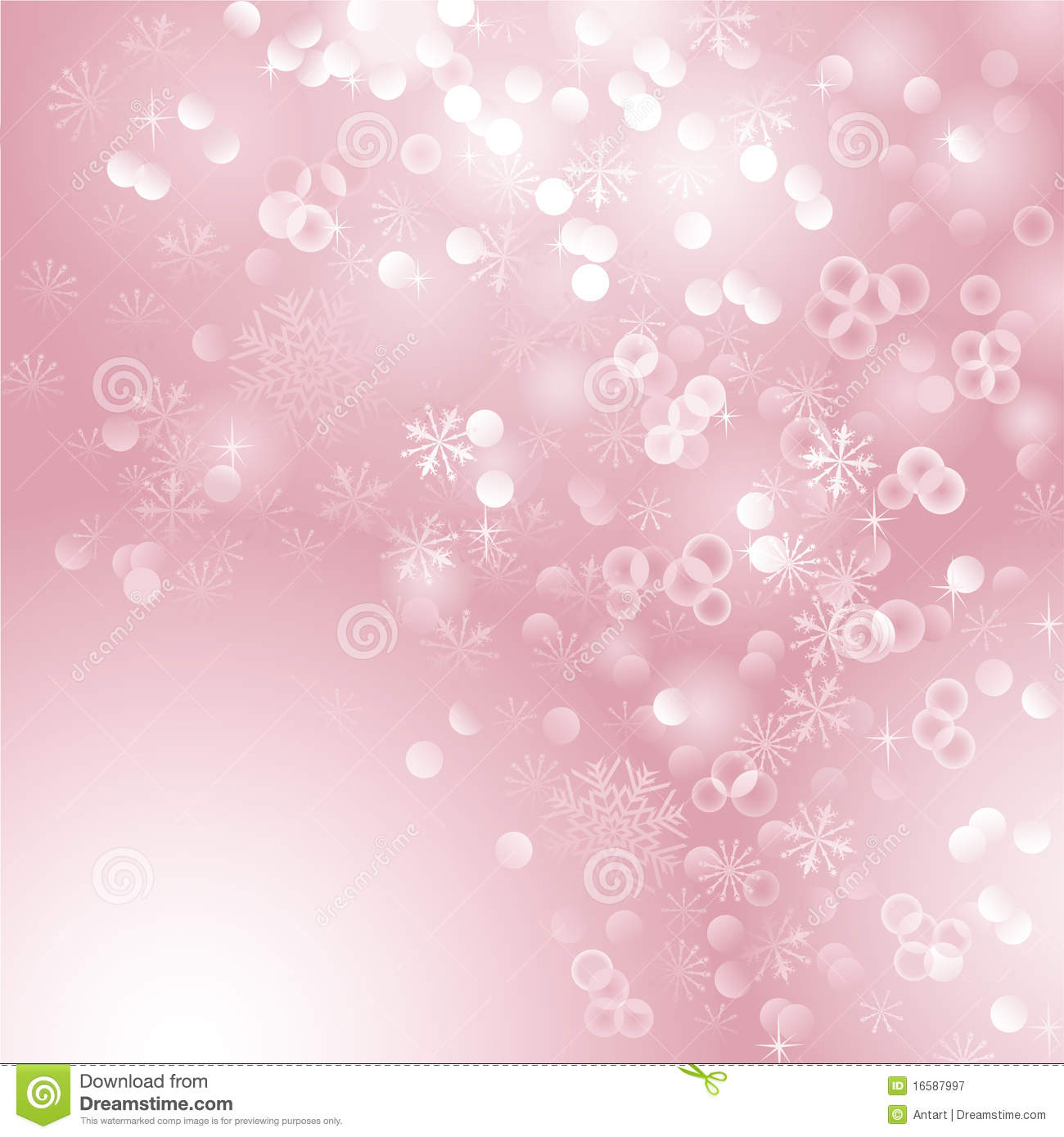 Pink Christmas Background Royalty Free Stock Photography - Image ...