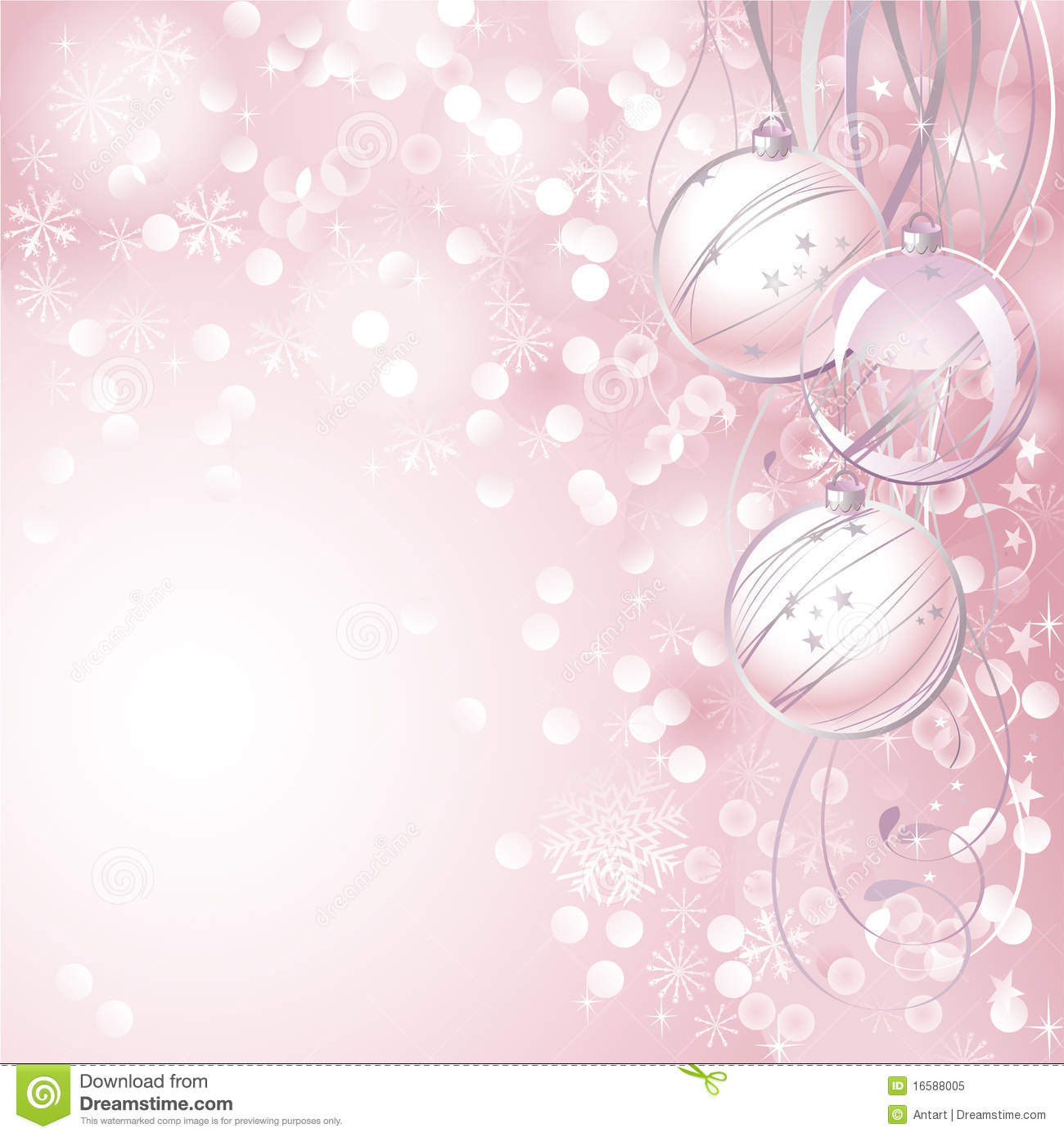 Pink Christmas Background Royalty Free Stock Photo - Image: 16588005
