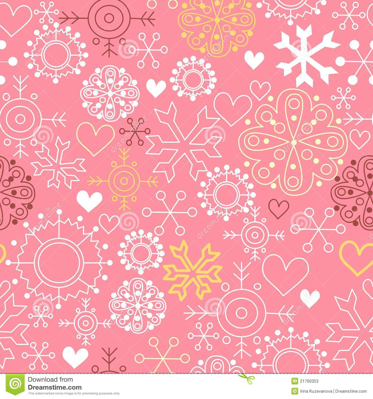 Pink Christmas Background Stock Photos - Image: 21760353