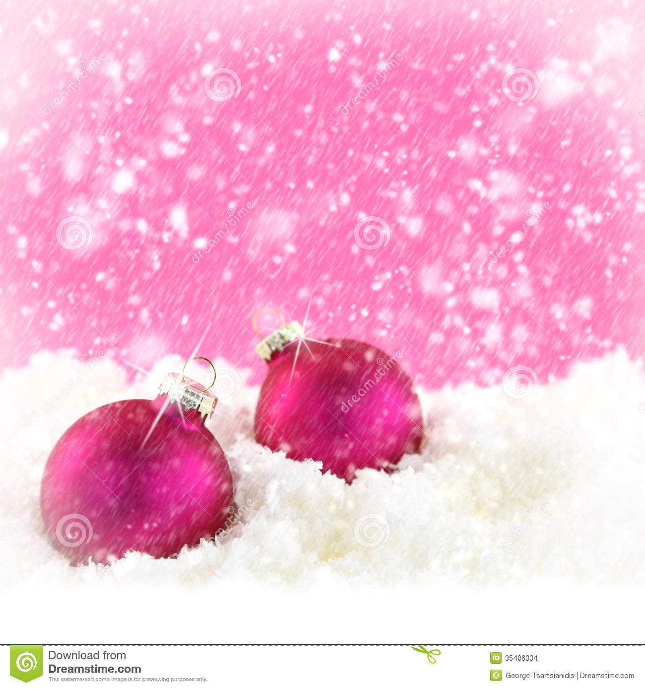 Christmas Background With White Snowflakes Royalty Free Stock ...