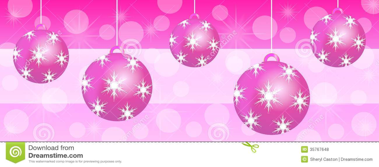 Decorations De Noel En Fushia