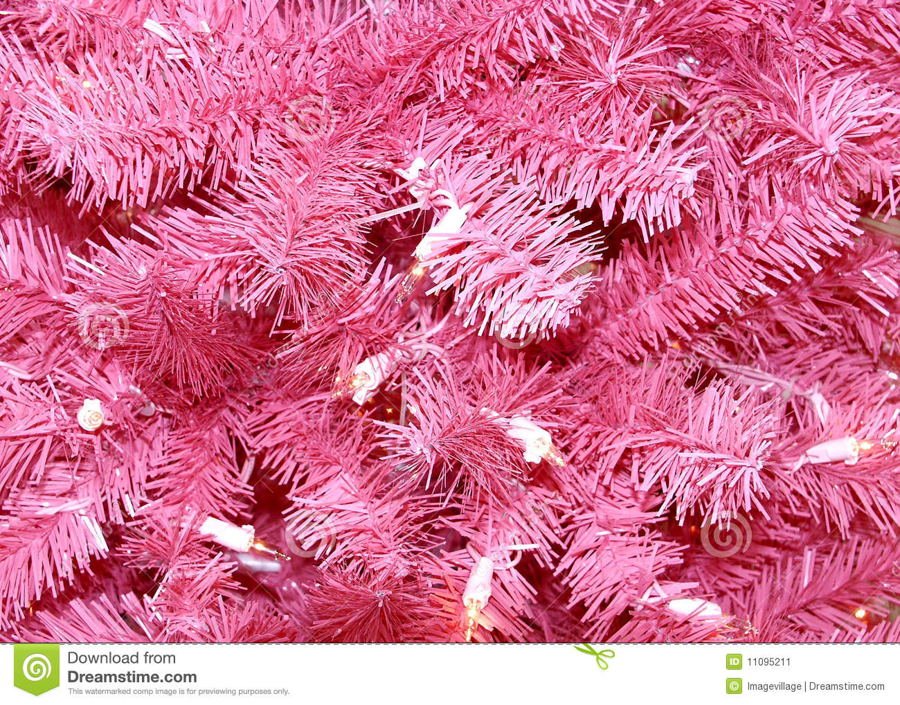 Download Pink Christmas Tree Background Stock Image