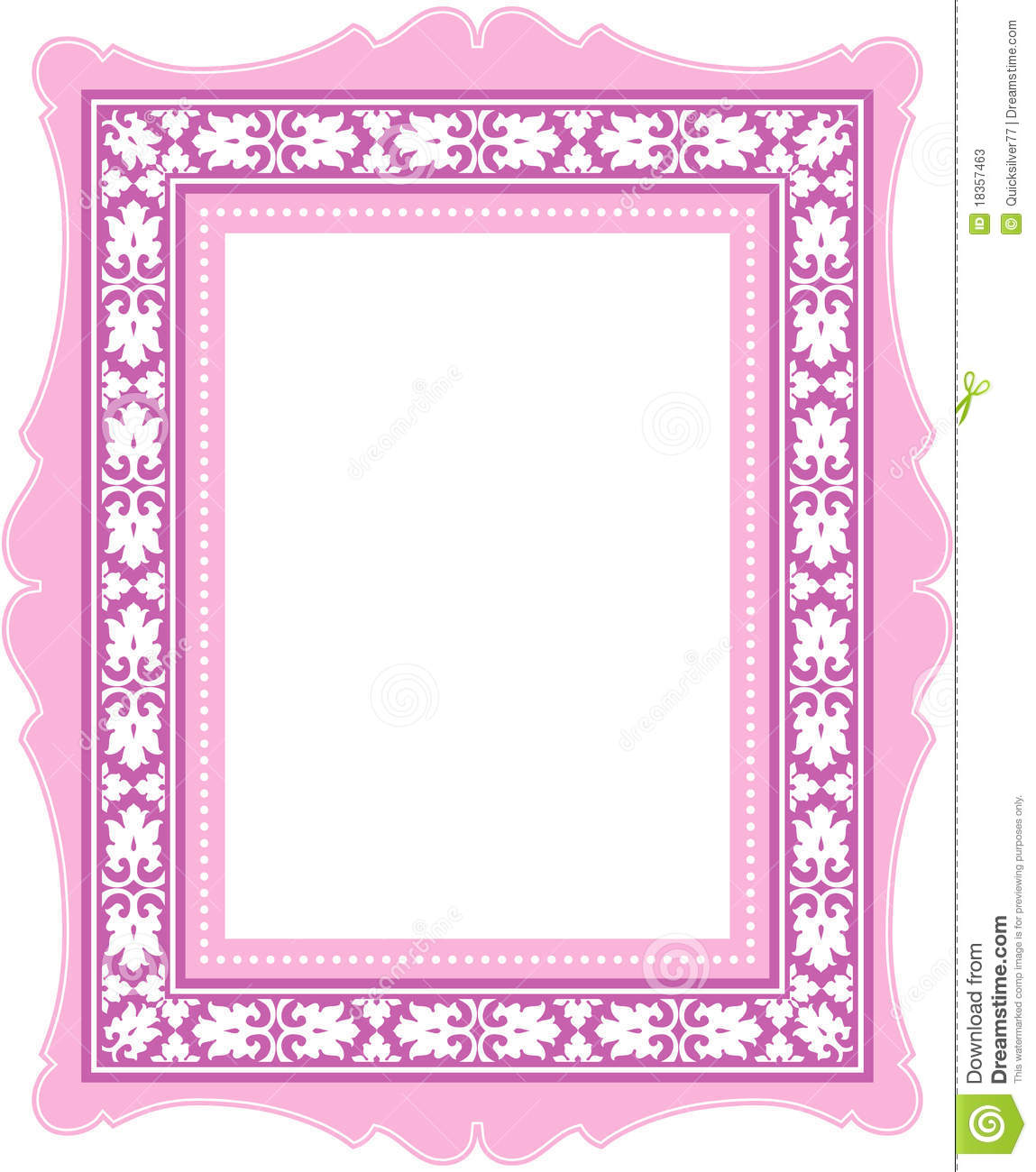 pink classic frame