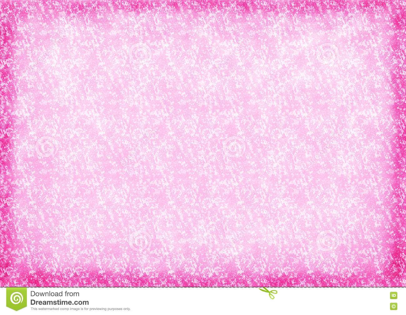 Pink Color Background With Flowers Stock Photo Image 14956530