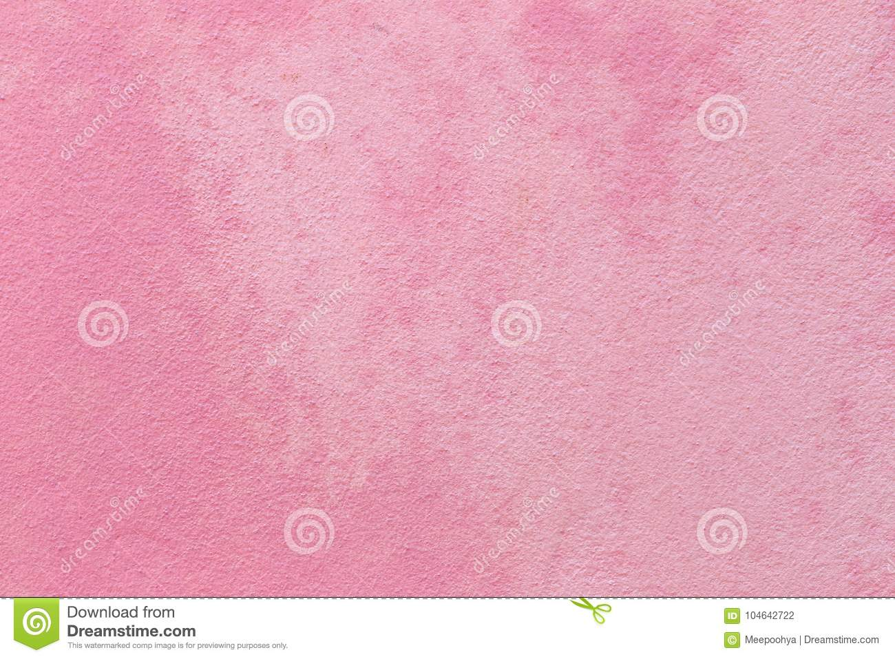 Pink concrete wall background.
