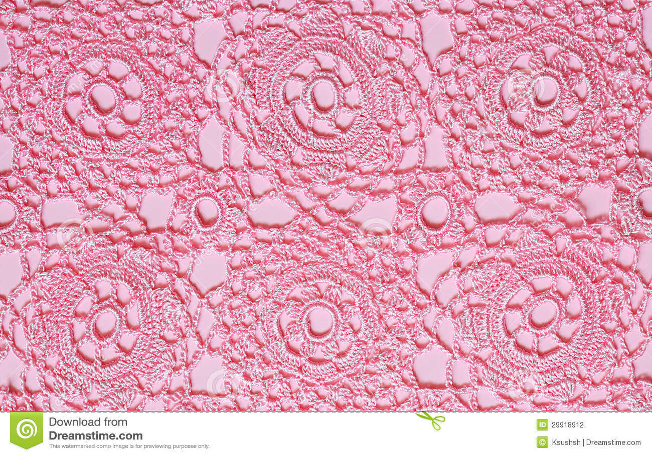 Pink Lace Stock Photography Image 29918912