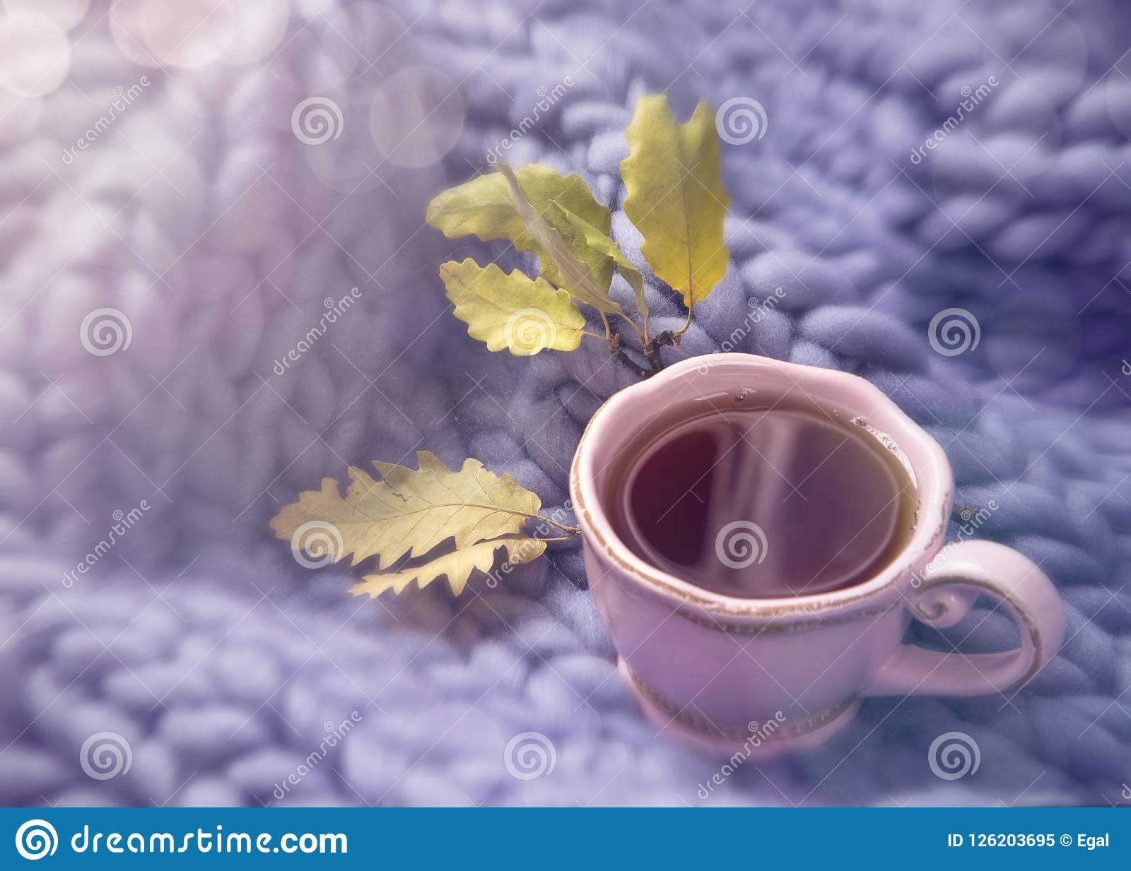 Download Pink cup of tea stock image. Image of large, background - 126203695