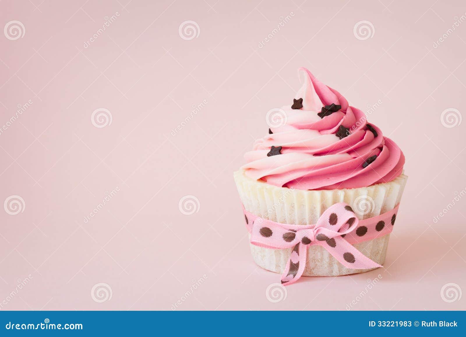 Pink Cupcake Stock Image Image Of Cake Baked Cupcakes
