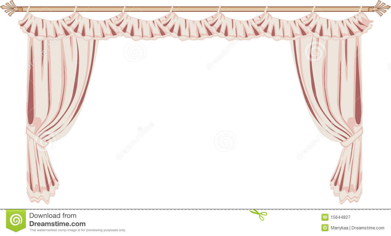 Pink Curtains Royalty Free Stock Photography Image 15644827