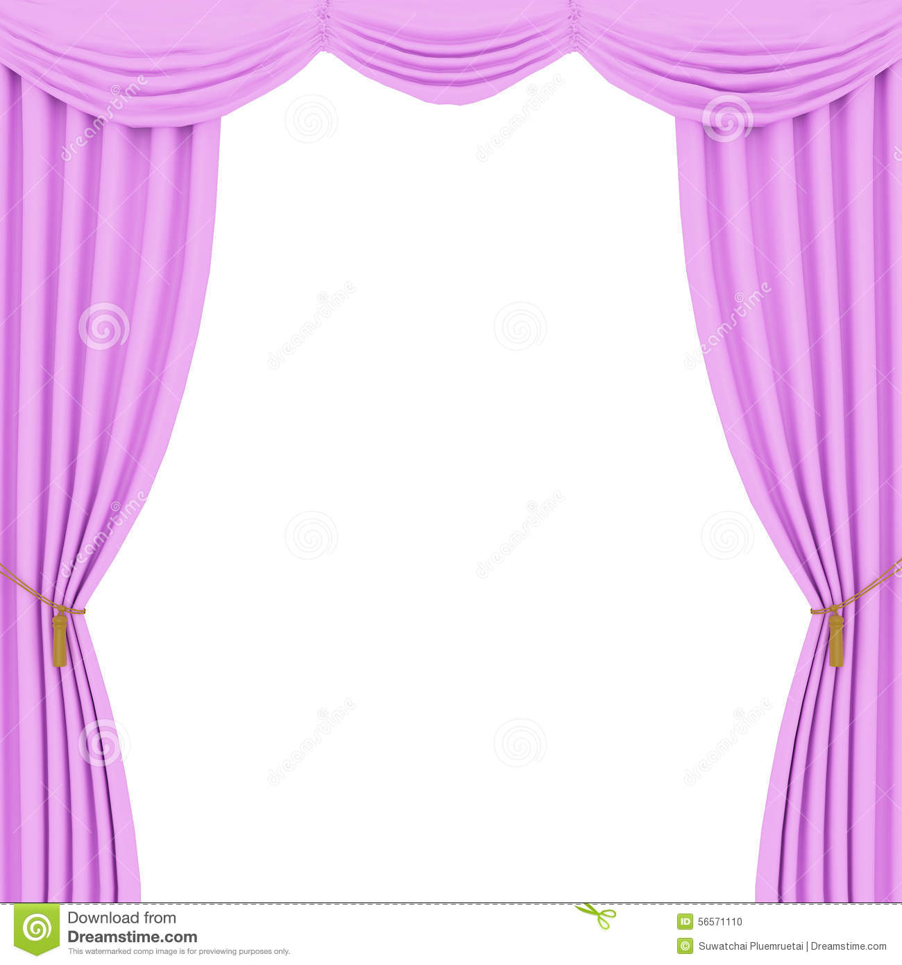 Pink curtains background stock illustration. Illustration of decor ... for Pink Curtains Background  557ylc