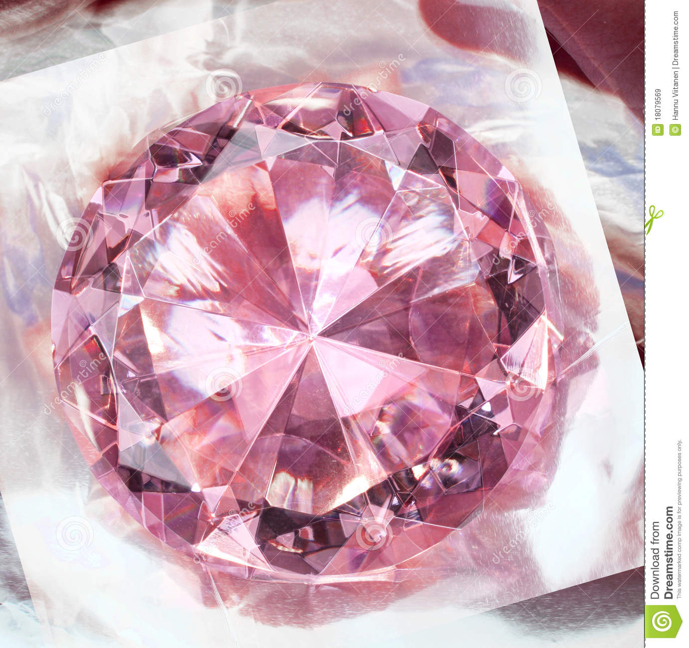 Pink Diamond Impression Royalty Free Stock Images Image 18079569