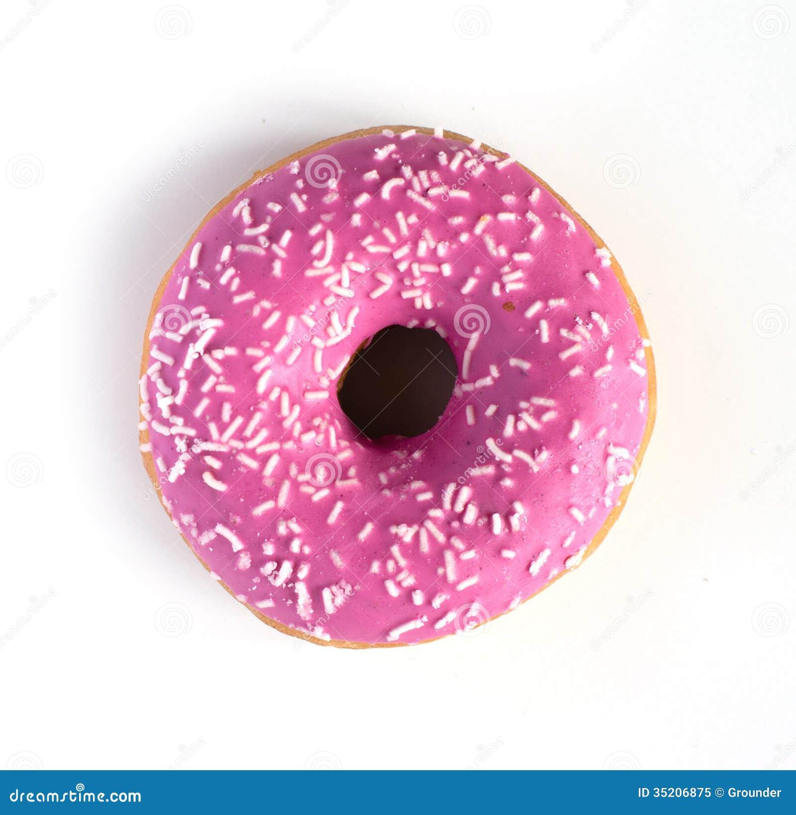 Pink Donut Stock Image Image Of Dessert Donut Sugar 35206875