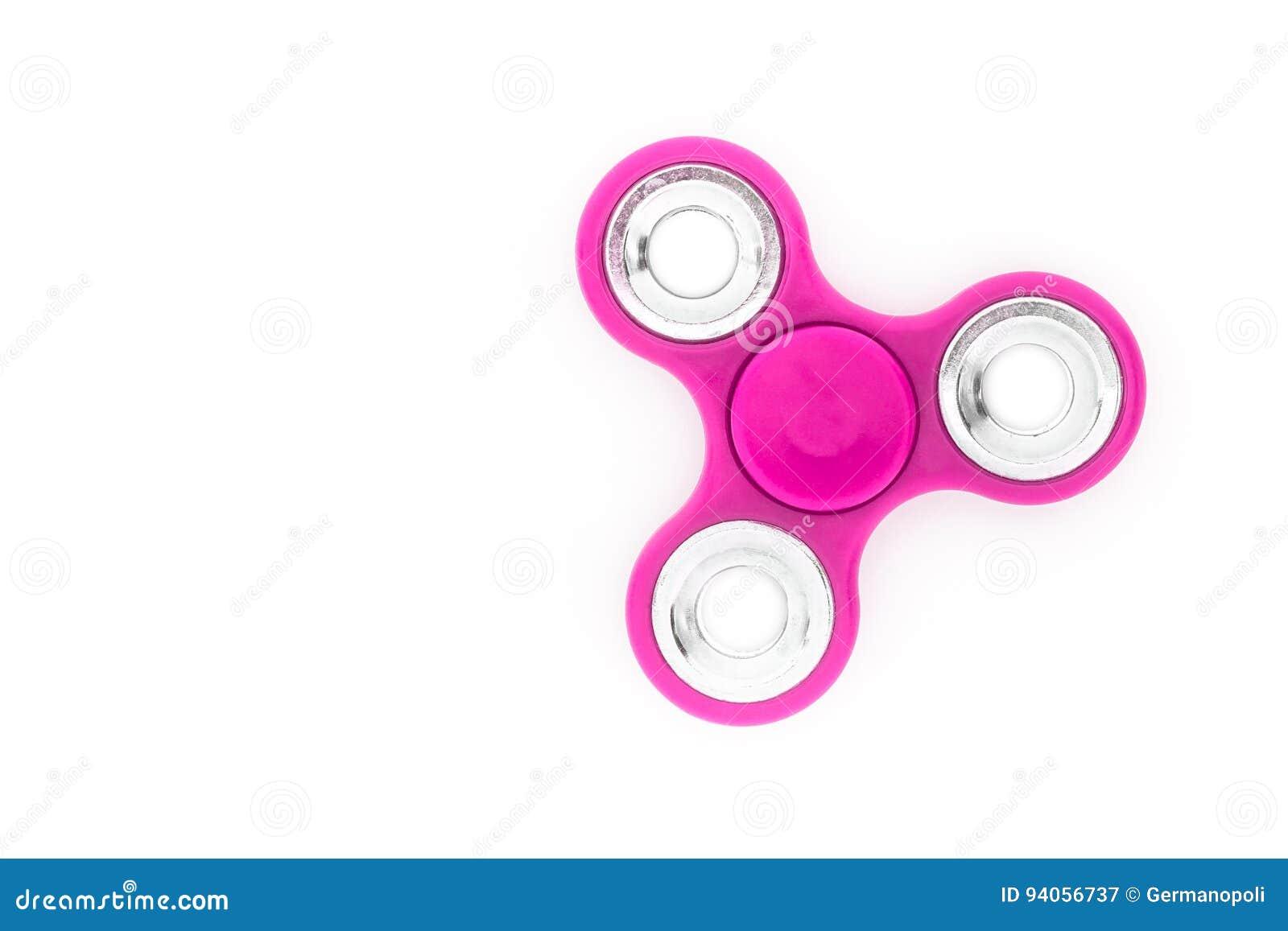 Pink finger spinner