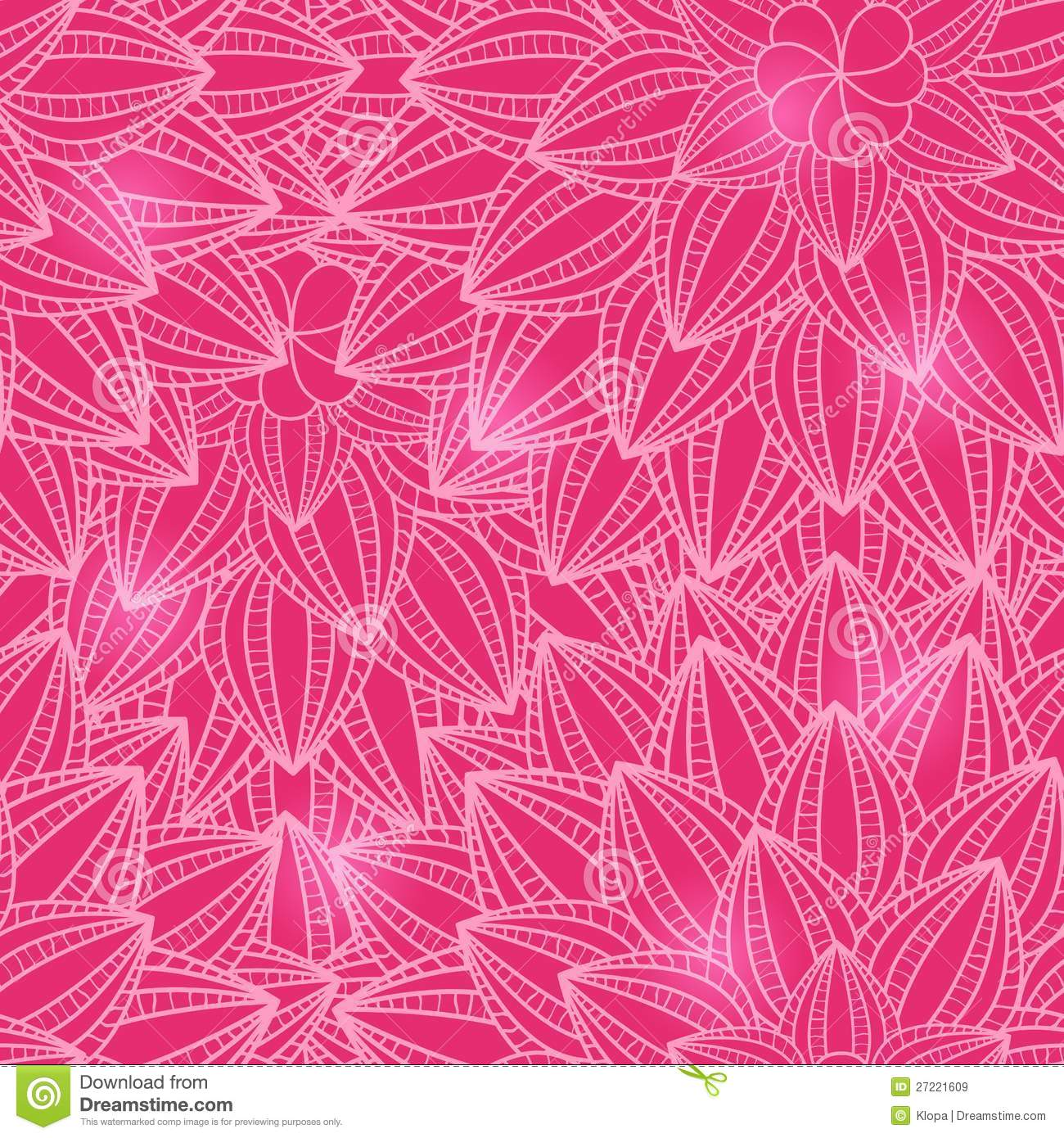 Seamless pink floral pattern - photo#19