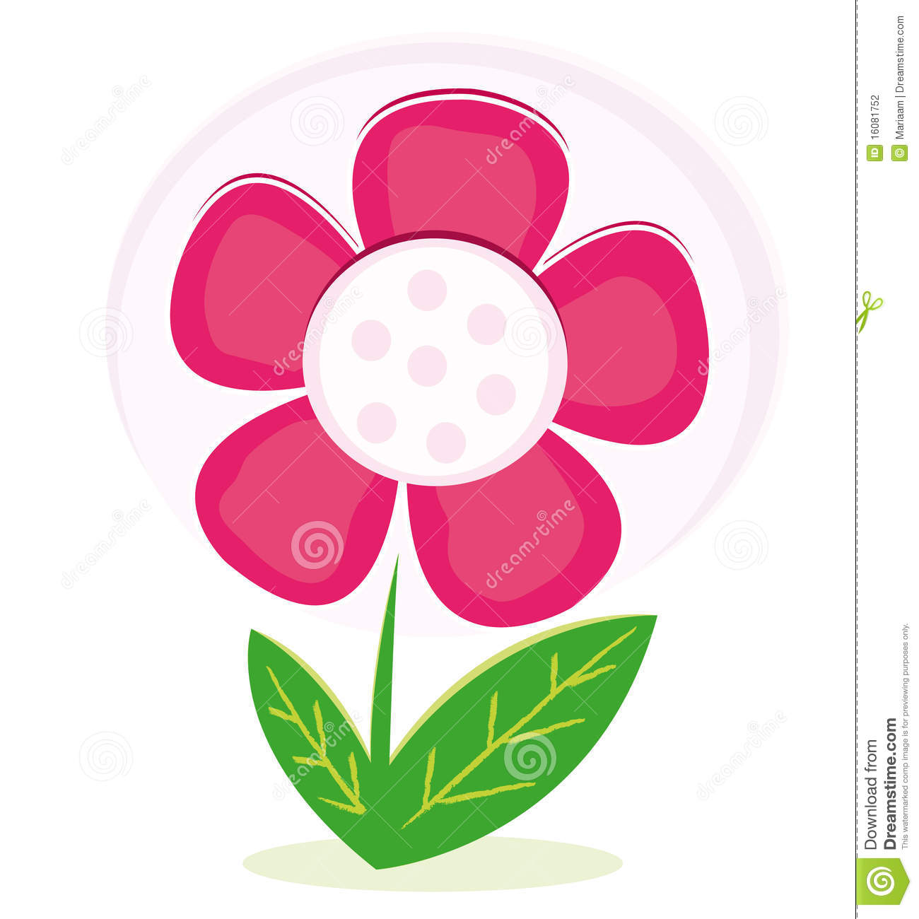 Pink flower stock photography image 16081752 - Fotos d flores ...