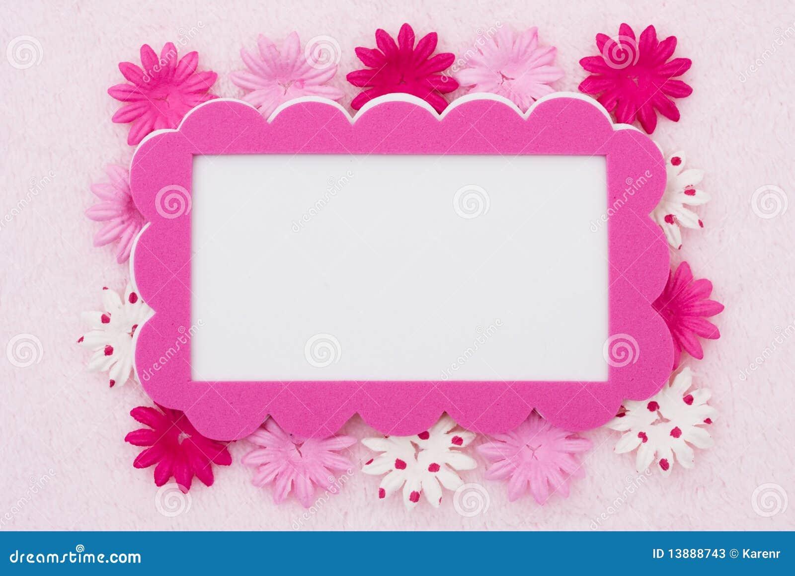 Pink Flower Border Images Comousar