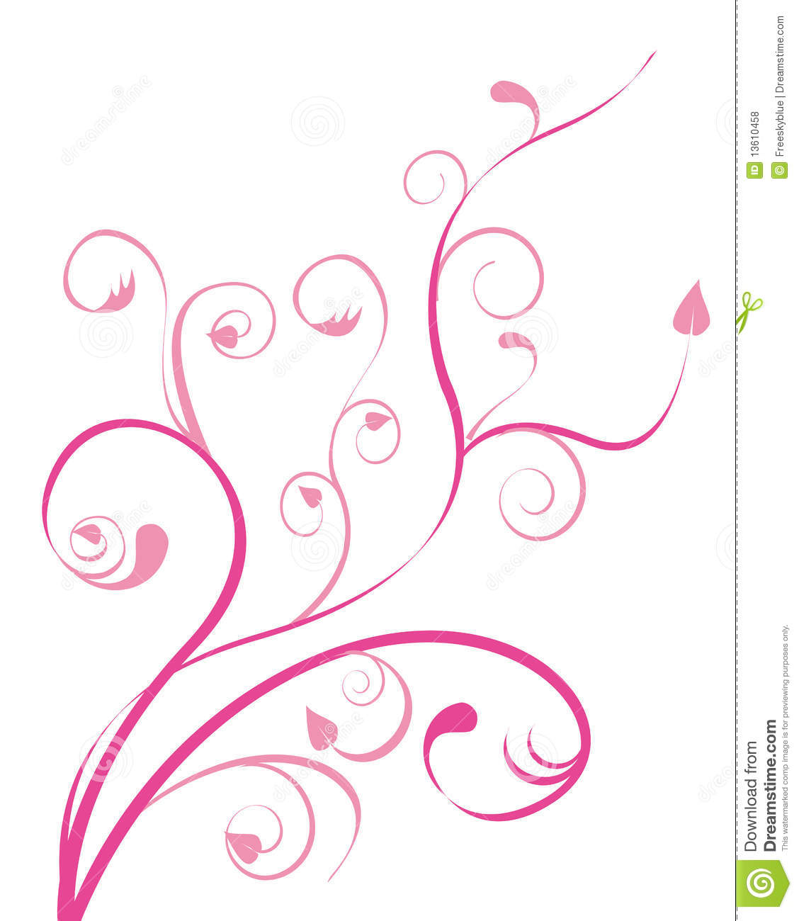 Gallery For gt Pink Flower Drawing