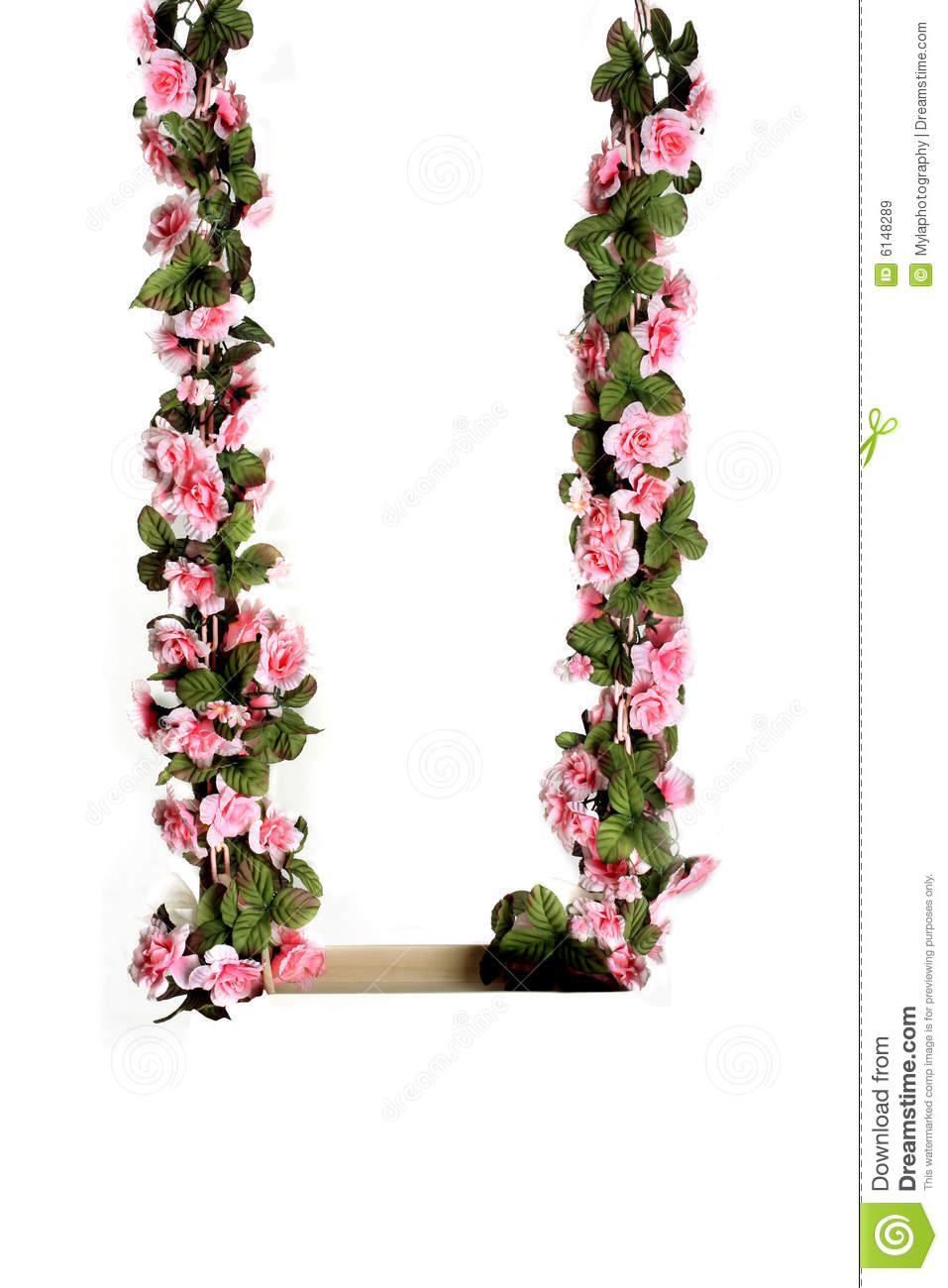 Pink Flower Swing Royalty Free Stock Images Image 6148289