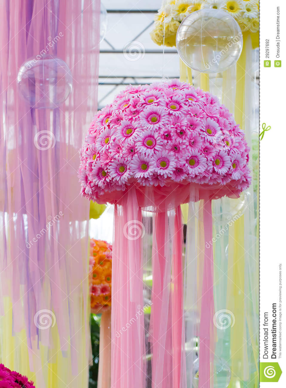 Pink flowers bouquet stock photo. Image of colorful, flora - 29297692