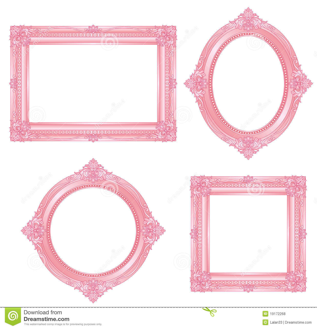 Pink Frame Royalty Free Stock Photos Image 19172268