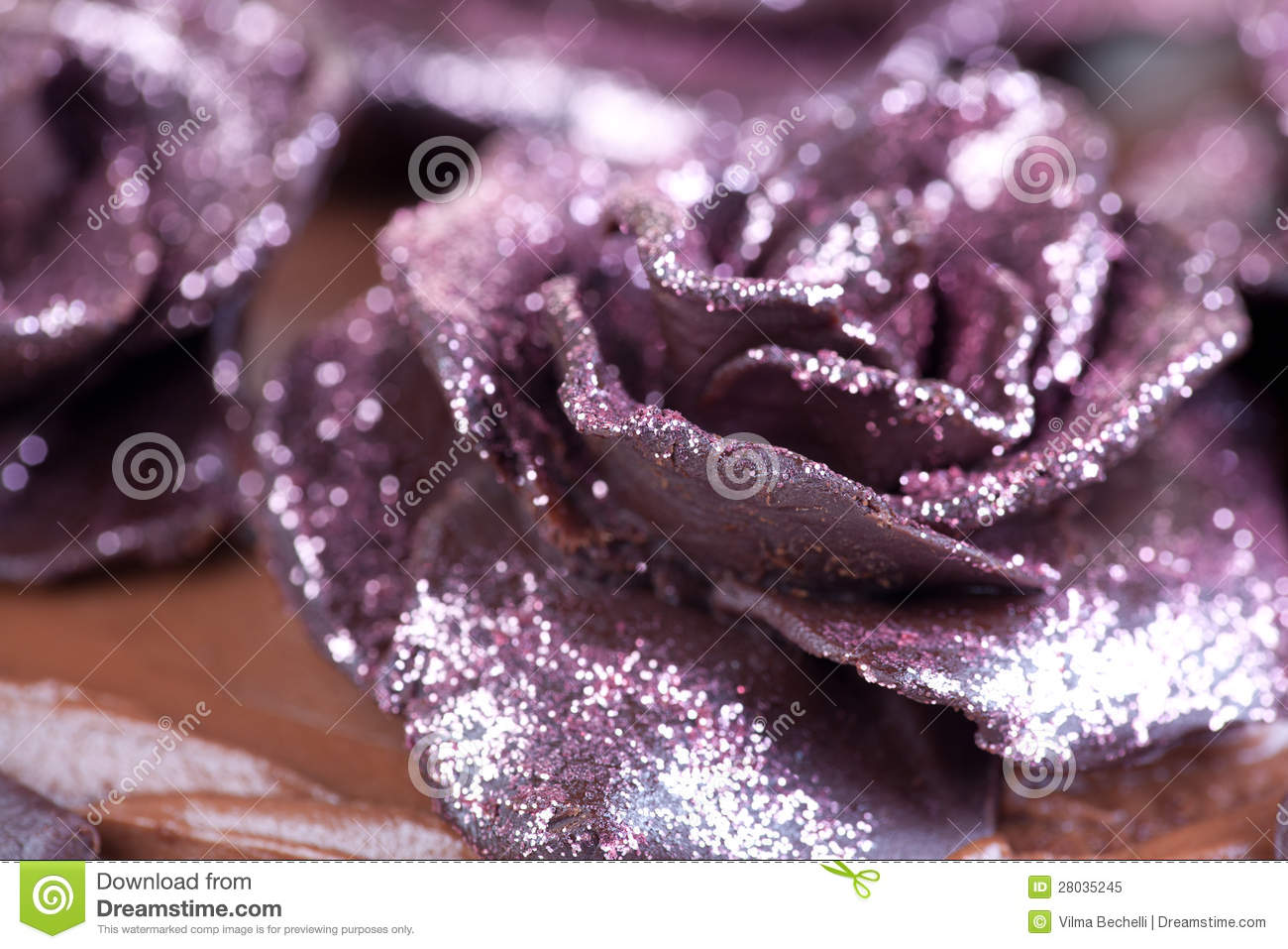 Pink Glitter Roses Royalty Free Stock Photo Image 28035245