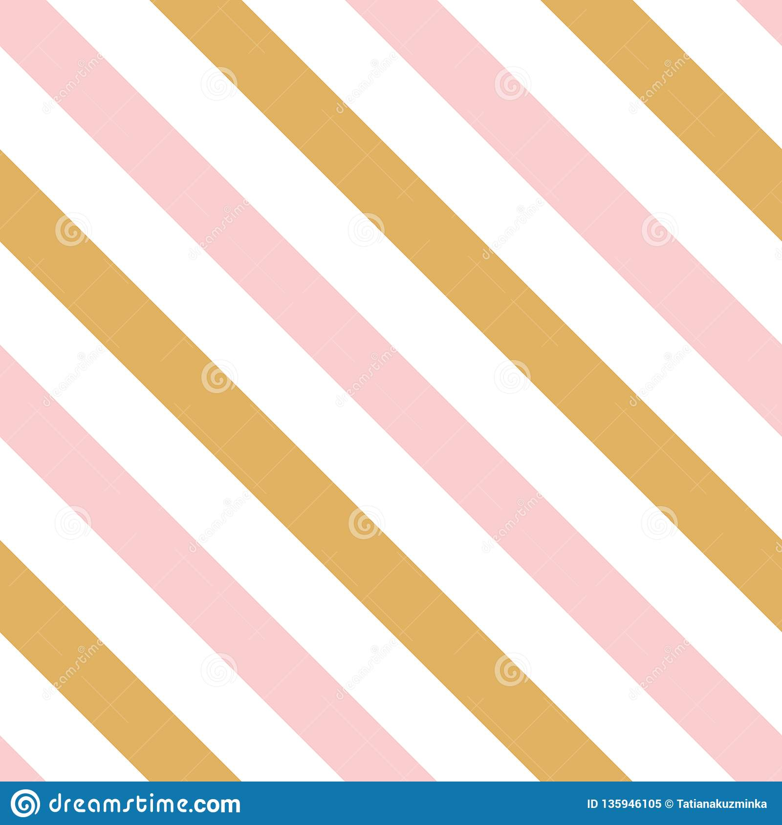 Pink Gold Decorative Diagonal Background Made From Lines ...