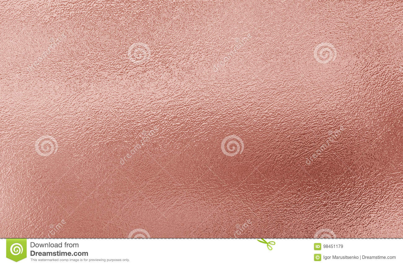 Pink Gold Foil Texture Background Stock Image - Image of ...