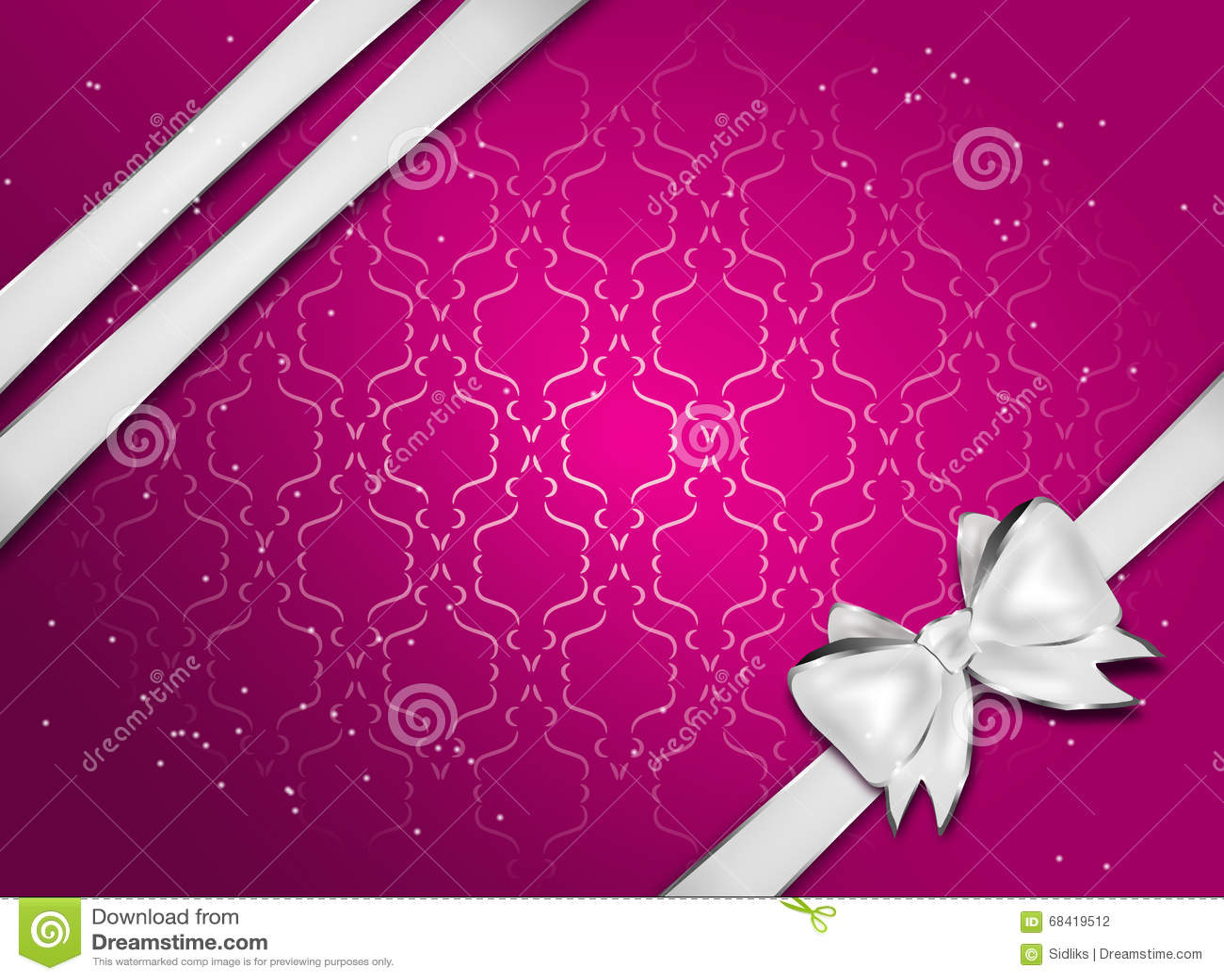 pink greeting card stock illustration  illustration of