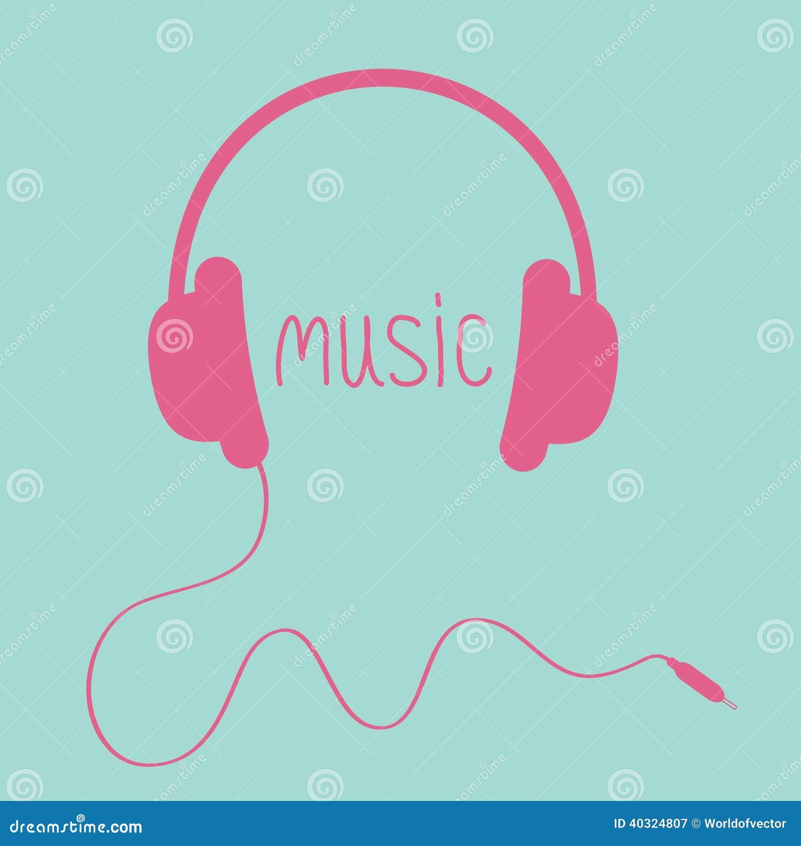 pink headphones clip art wwwimgkidcom the image kid