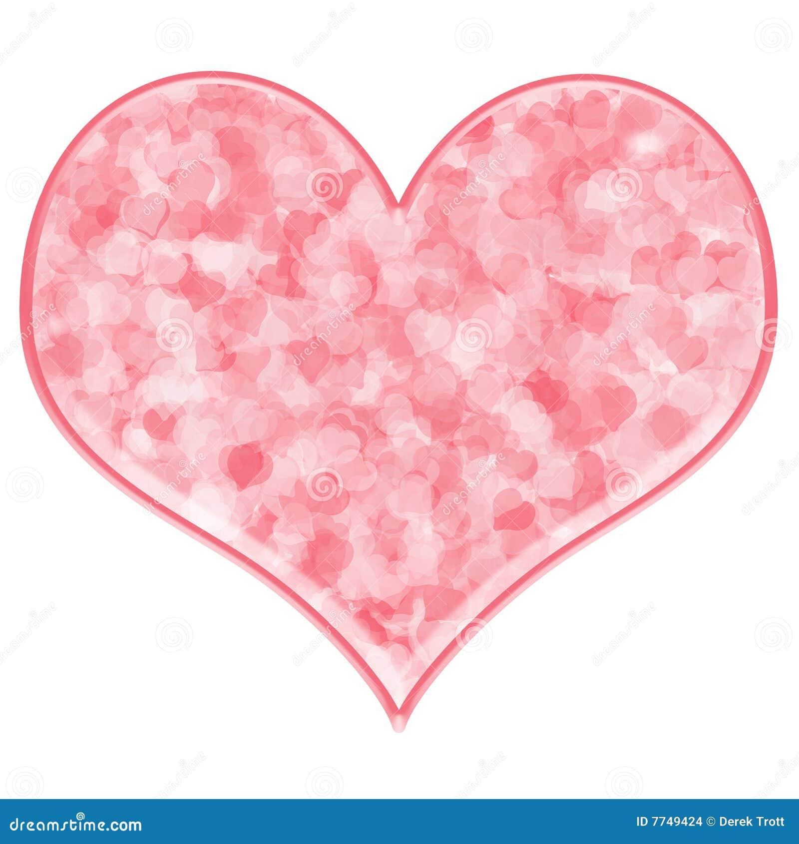 pink heart stock illustration illustration of passion 7749424 rh dreamstime com big pink heart images pink heart pictures