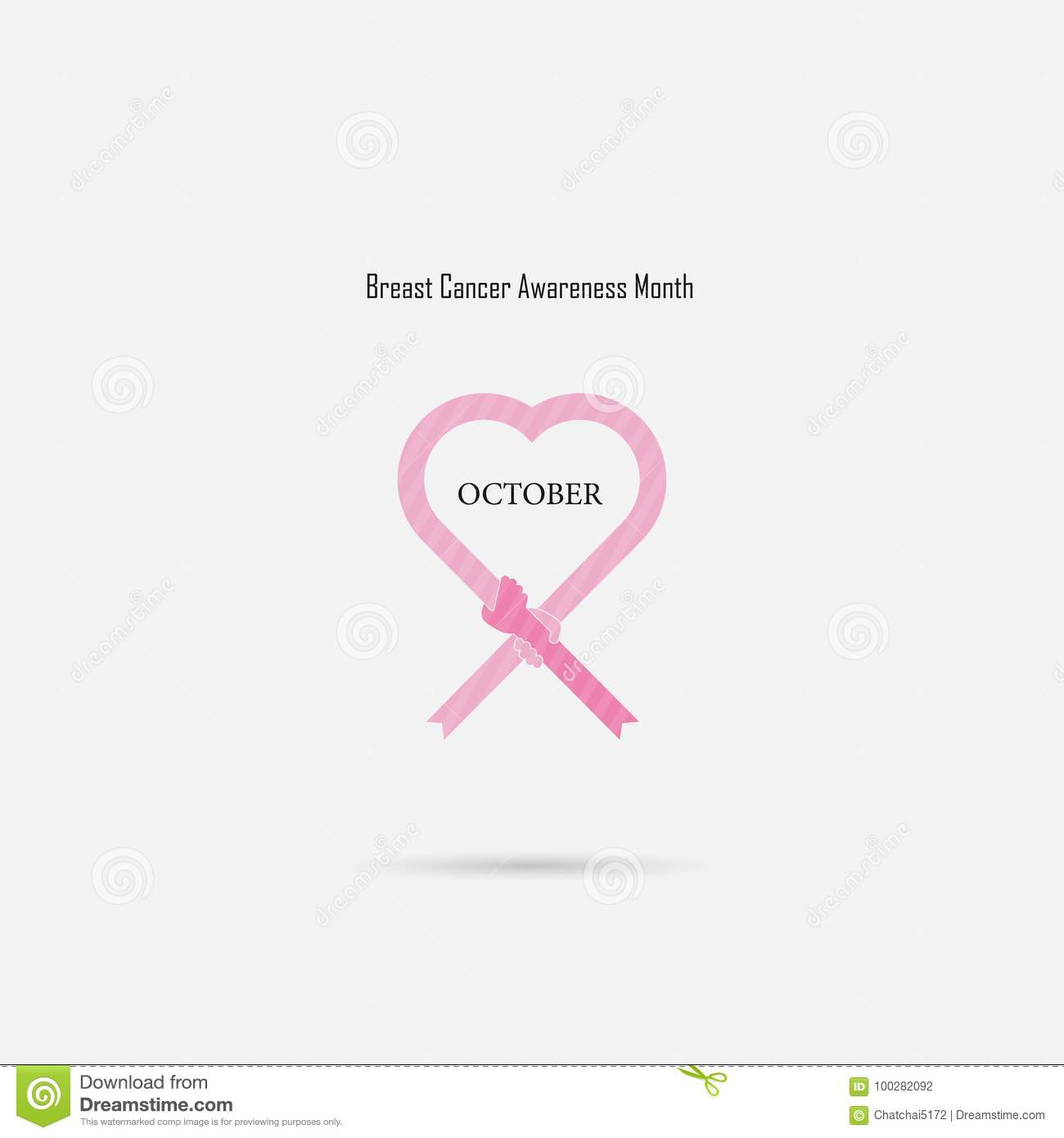 cfd3910057a Pink Heart Ribbon Sign.Breast Cancer October Awareness Month Cam ...