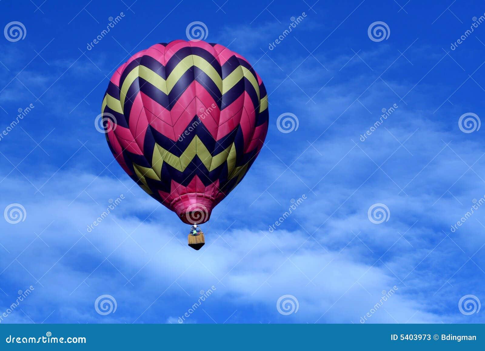 Pink Hot Air Balloon