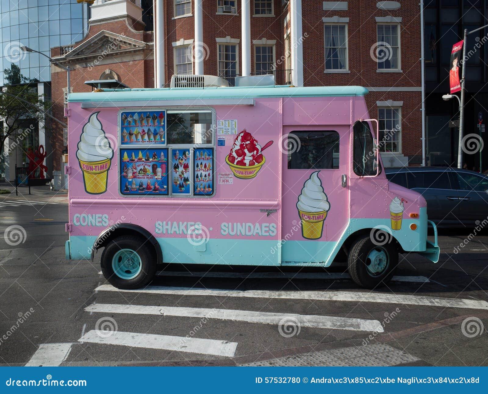 The Pink Van Food Truck