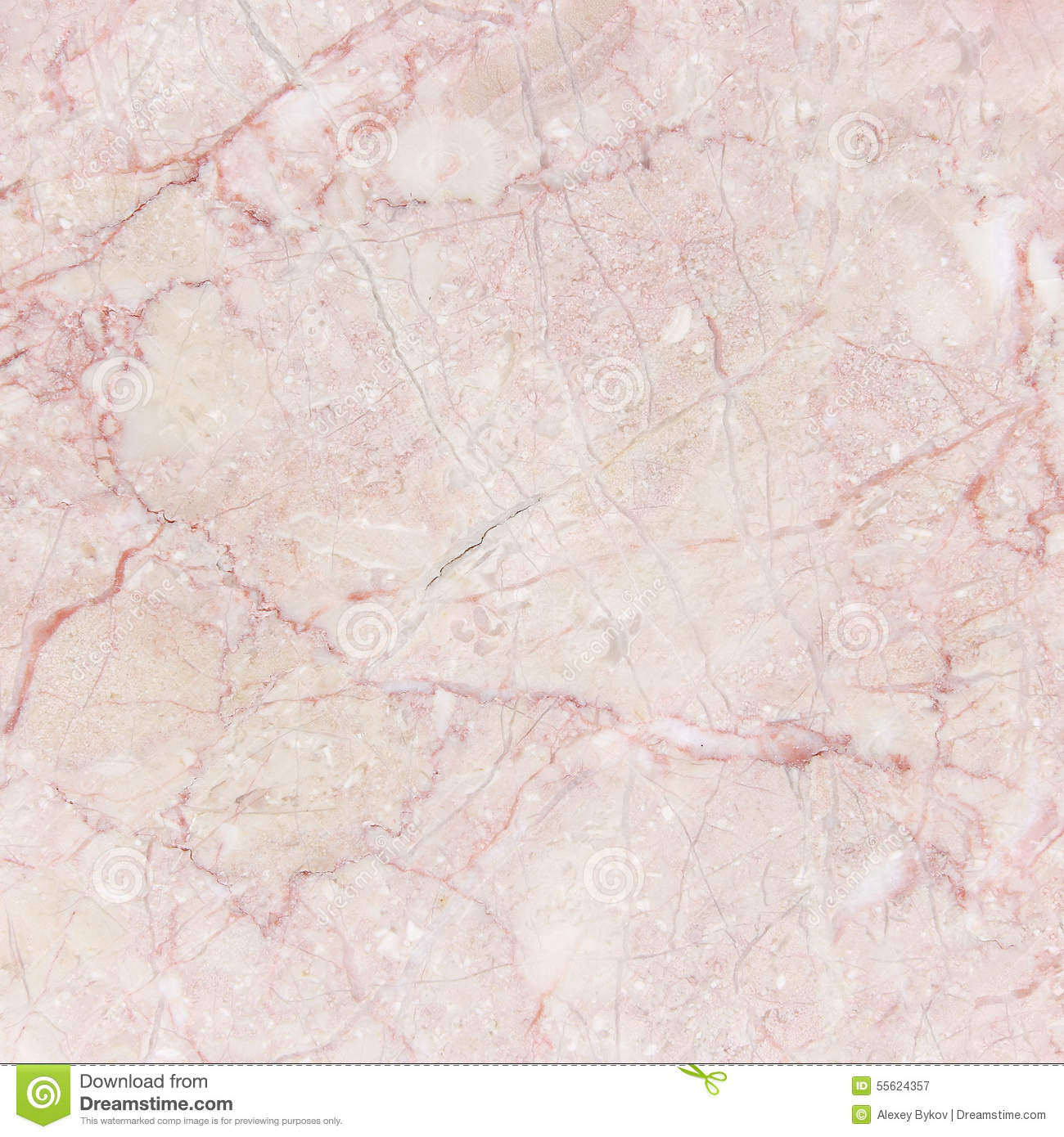 Pink Italian Marble With Natural Pattern Stock Image