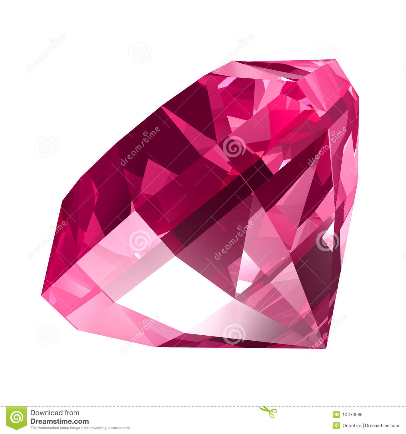 Pink Jewel Royalty Free Stock Photo Image 10473985
