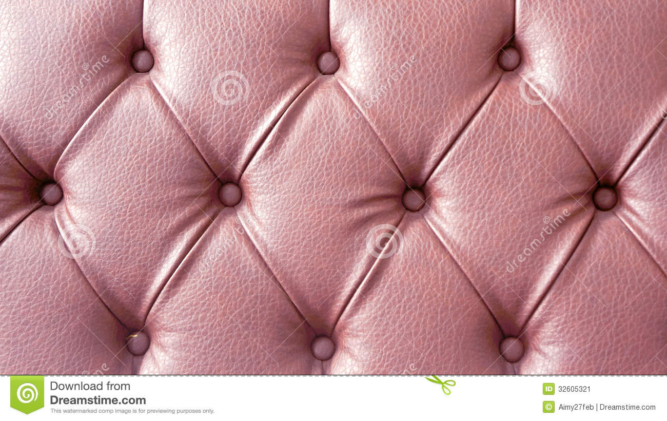 pink leather sofa texture stock image