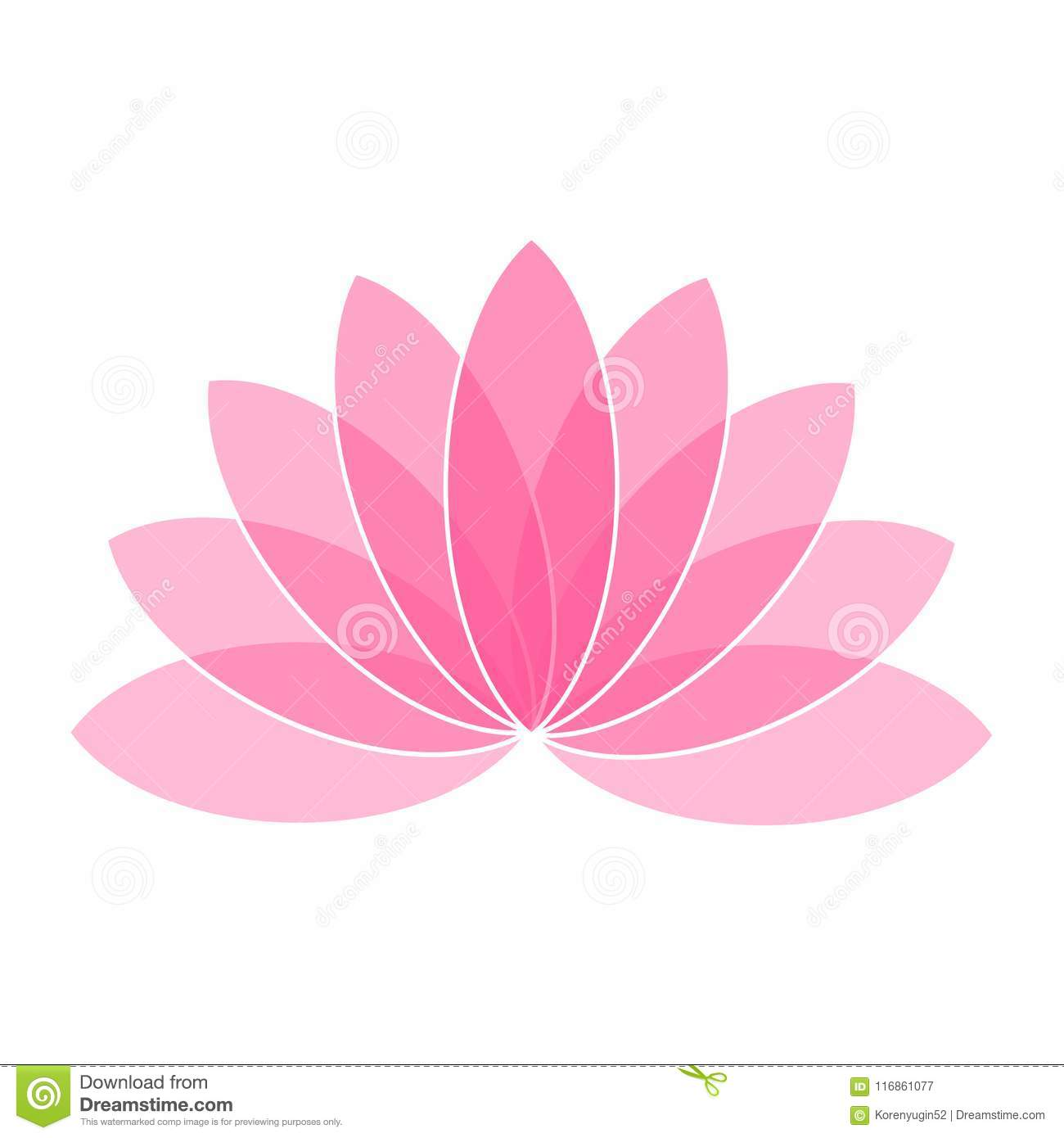 Pink lotus flower icon logo on white background illustration stock download pink lotus flower icon logo on white background illustration stock vector illustration of petals izmirmasajfo