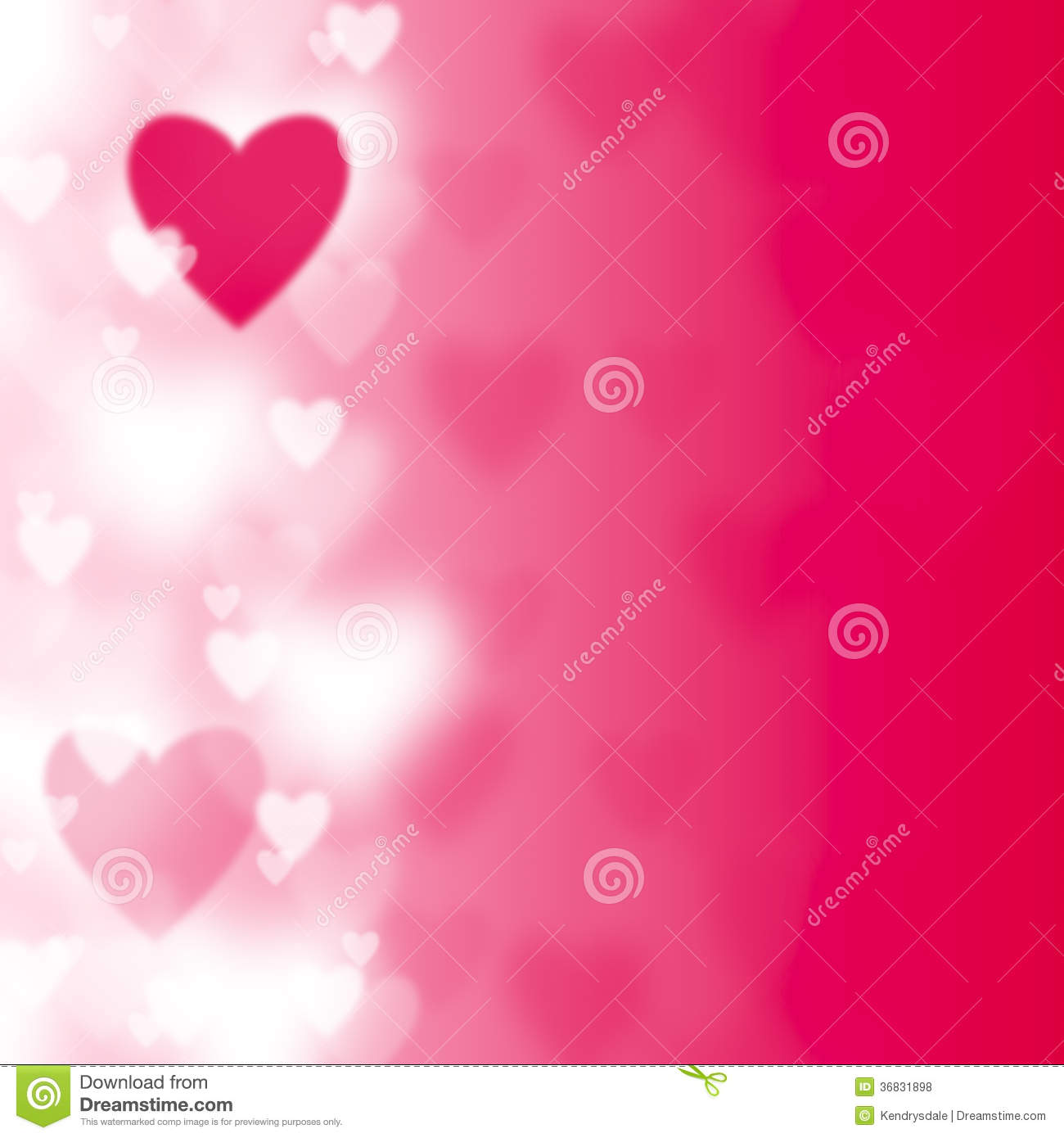 Love Hearts And Background Valentines Or Wedding Vector